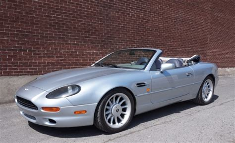 Aston Martin Db7 Convertible by 1998 Aston Martin Db7 Volante For Sale On Bat Auctions