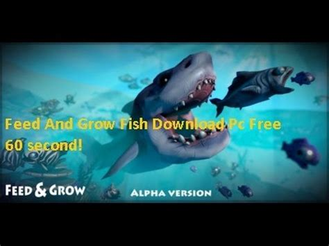 feed and grow fish pc download free in 60 second! youtube
