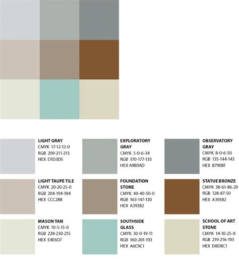neutrals colors color the george mason university brand profile