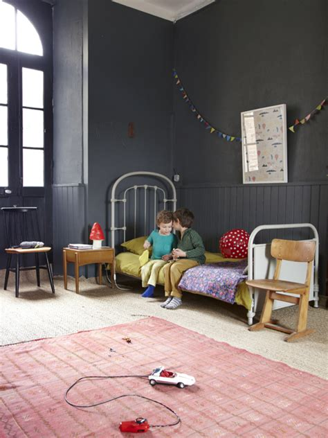 grey kids bedroom house tour light and airy french apartment with just a
