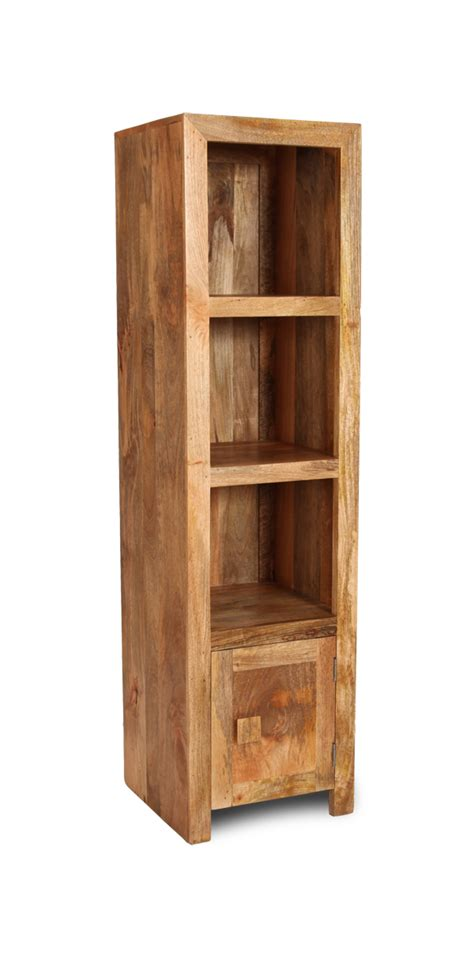 light dakota slim 1 cupboard bookcase trade furniture