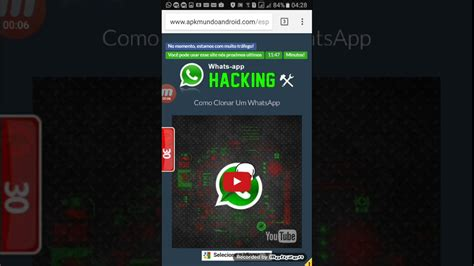 tutorial como clonar whatsapp tutorial criar uma intro whats app hackink como clonar