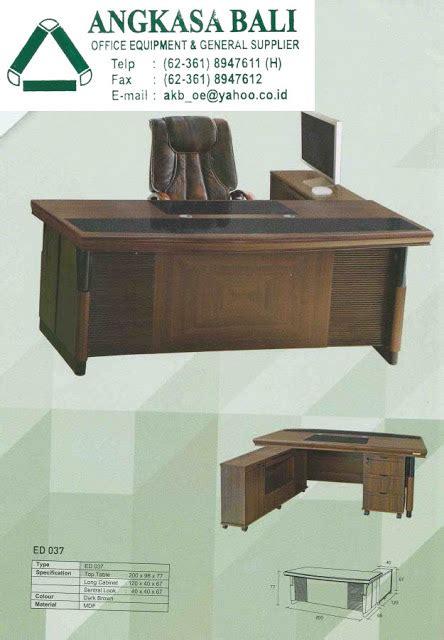 Meja Frontline jual meja direktur meja kantor frontline di bali denpasar harga meja kerja meja pimpinan angkasa