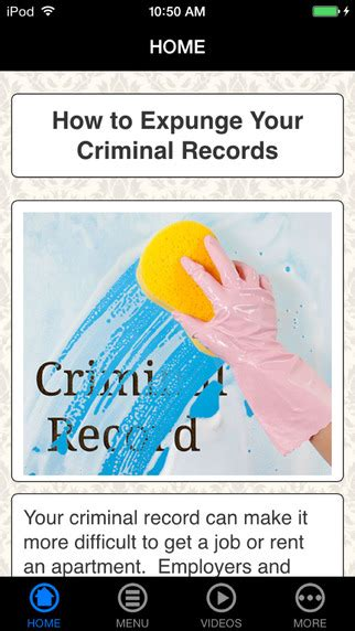 Expunge Criminal Record For Free 20 Best Free Records Search Apps Ios Iphone