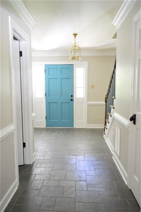 foyer freshness a soft neutral paint color house