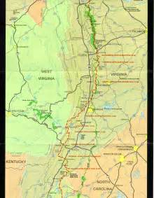 appalachian trail map appalachian trail