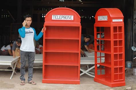 Lemari Telephone Inggris lemari telephone inggris pajangan murah lemari