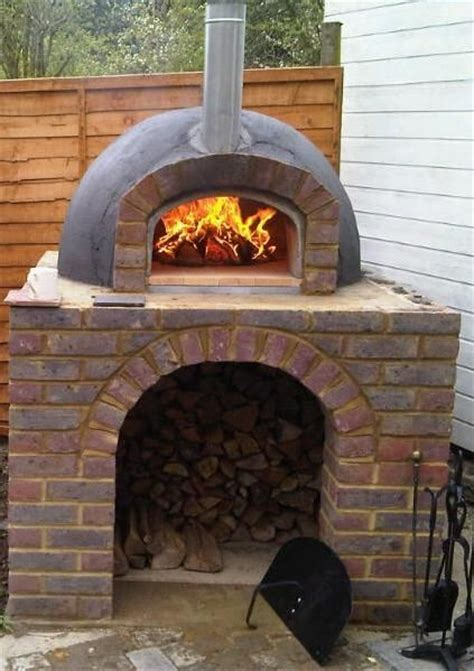 backyard pizza oven kits kl wood fired burning outdoor pizza oven superior kit