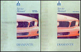 online car repair manuals free 1994 mitsubishi diamante seat position control 1992 1994 mitsubishi diamante repair shop manual set original