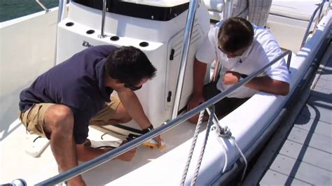 boat t top installation stryker t top installation part 3 youtube