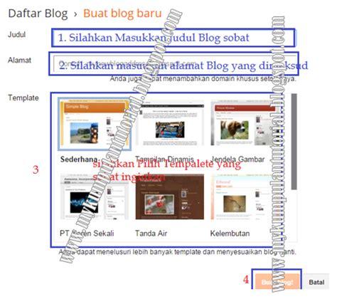 cara membuat blog untuk pemula cara membuat blog di blogspot com untuk pemula kumpulan