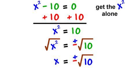 Solving Quadratic Equations By Finding Square Roots Worksheet by Solving Quadratic Equations Cool Math Algebra Help