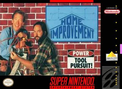 neko random home improvement snes review
