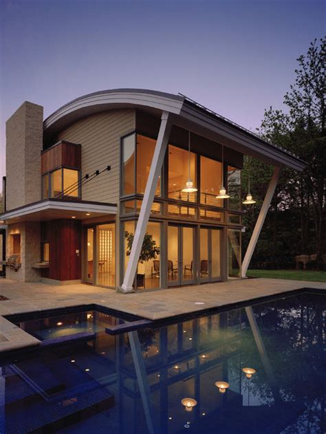 curved roof home design ideas renovations