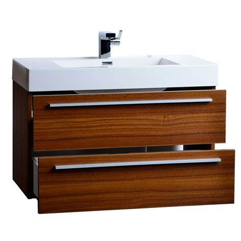 Bathroom Vanities Tn by 35 5 Quot Wall Mount Bathroom Vanity Teak Tn M900