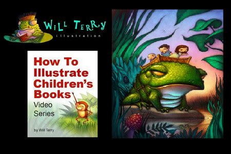 How To Illustrate Children S Books With Will Terry Free