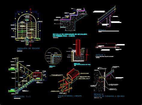 details stair   dwg detail  autocad designs cad