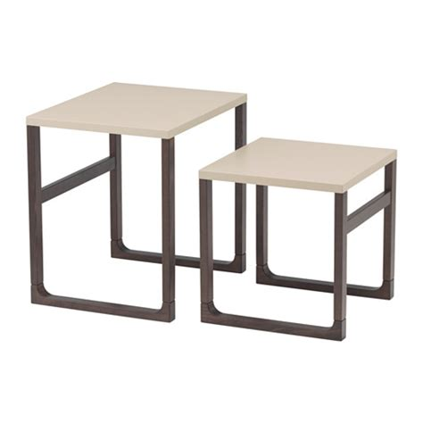 rissna nesting tables set of 2 ikea