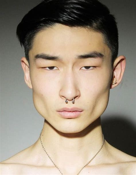 big face asian asian guy with septum models pinterest beautiful