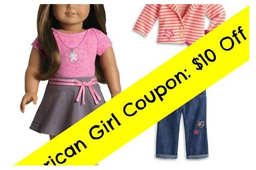 american girl coupons promotions