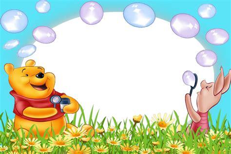 imagenes de winnie pooh sin fondo marcos para fotos de winnie the pooh marcos gratis para