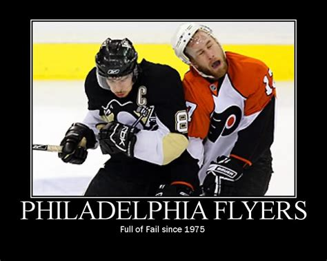 Flyers Memes - philadelphia merely seems dull because i by robert anton