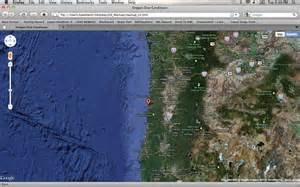 Oregon Map Google by Oregon Dive Conditions Google Maps Mashup Geo 565 Mashup