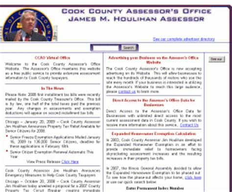 Cooke County Property Records Cookcountyassessor Cook County Assessor S Office