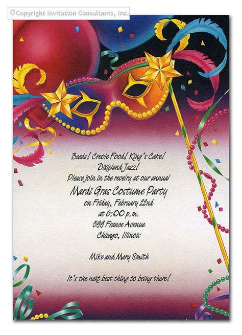 Mardi Gras Table Place Card Template by Mardi Gras Menu Mardi Gras Invitations Free