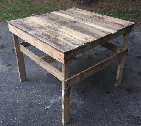 Patio Table From Pallets by Pallet Patio Coffee Table Potting Table 99 Pallets