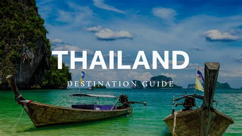 thailand travel guide  blond travels