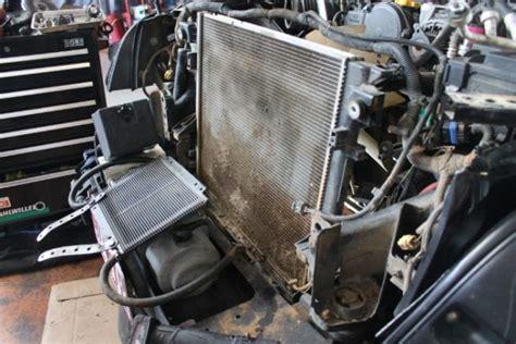 jeep wrangler jk condenser  fan hub replacement