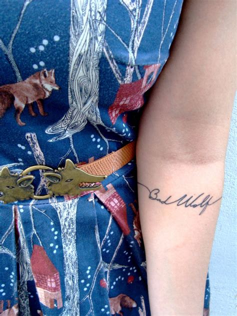 bad wolf tattoo bad wolf by deliriumdelight on deviantart
