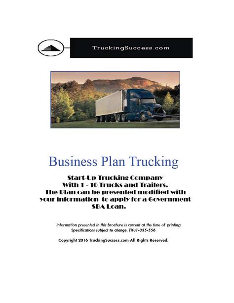 business plan template for transport company business plan template for transport company 7 business