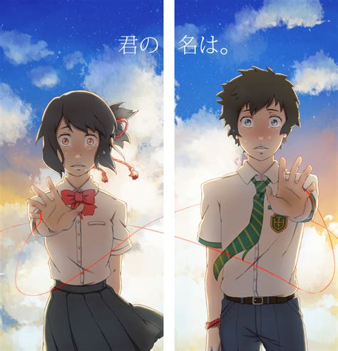 anime in your name your name by a9971309 on deviantart