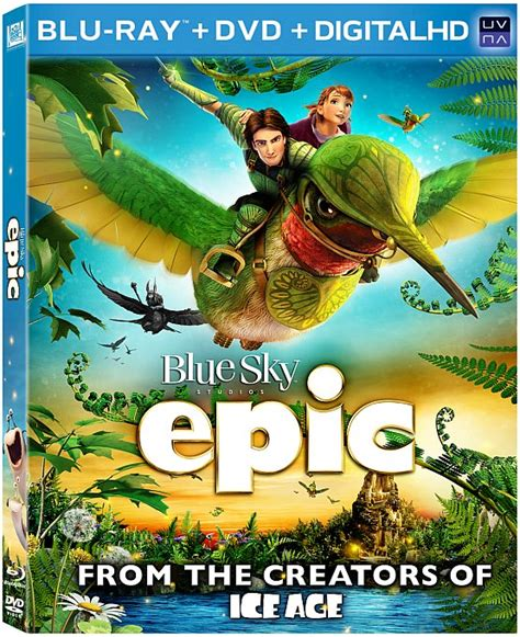 epic adventure film epic is an animated epic adventure not to miss blu ray