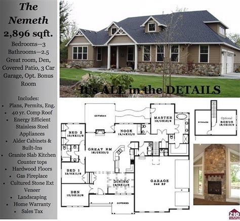how big is 2900 square feet nemeth 2900 square foot custom home
