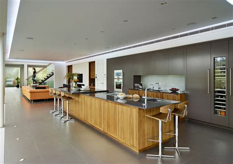 modern open kitchen design pro builders gallery of white lodge dyergrimes architects 9