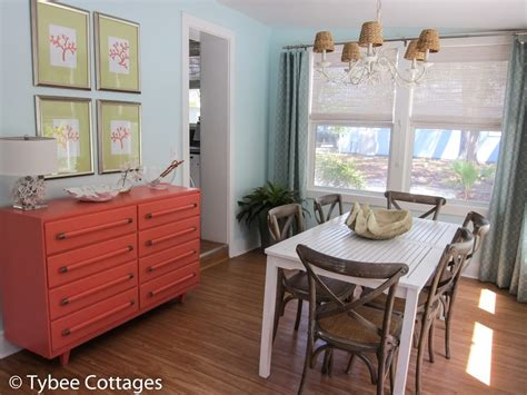 Coral Cottage Dining Room Table Tybee Cottages Cottage Dining Room Table