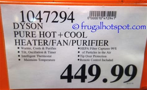 dyson and cool fan costco costco sale dyson pure cool heater fan 379 99