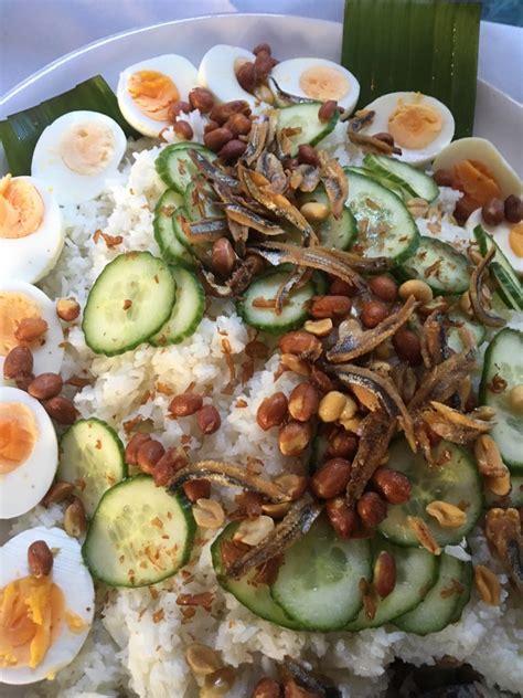 Rice Cooker Mini 2susun Menanak Nasi Egg Boiler 1 nasi lemak with ikan bilis cooking with