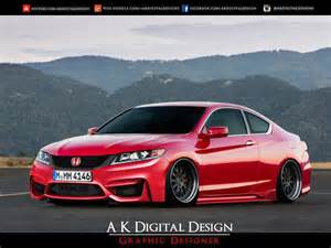 2013 honda accord coupe modified slammed original by