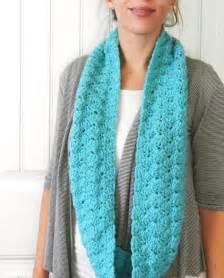How Should An Infinity Scarf Be Grow Creative Free Shell Infinity Scarf Pattern