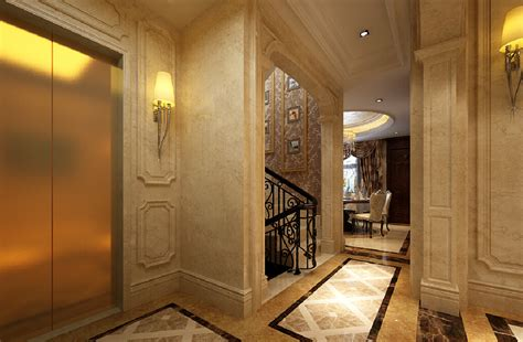 neoclassical villa interior stairwell 3d house free 3d european classical luxury bedroom interior design