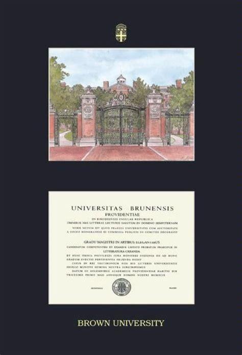 Ie Brown Mba Diploma by Custom Diploma Frames Certificate Frames Framing