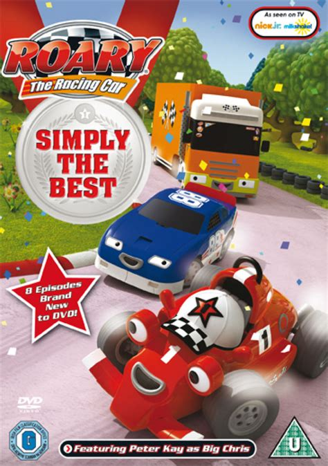 Car Set 10 In 1 Hello 3d roary the racing car simply the best dvd zavvi