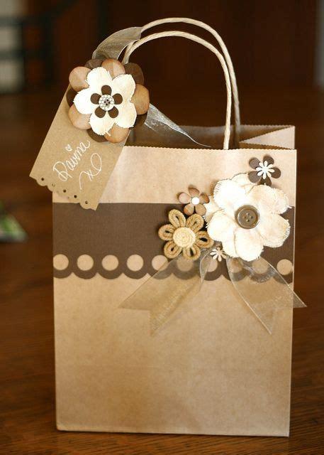 Brown Paper Bag Craft Ideas - brown paper gift bag craft ideas