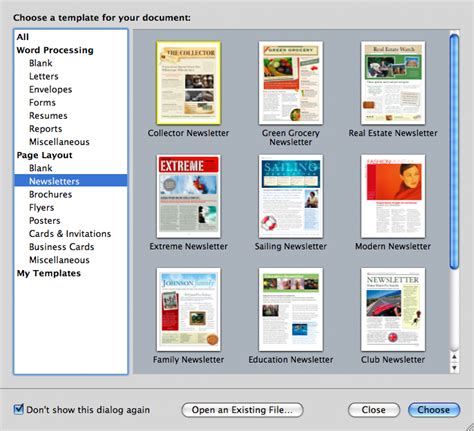 Apple Pages Templates For Newsletters | year s end time for a life newspaper organizing creativity