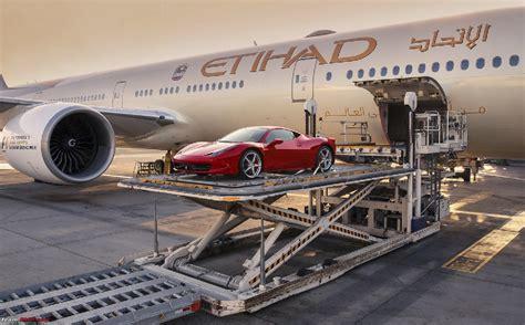 etihad cargo launches flightvalet luxury car shipment
