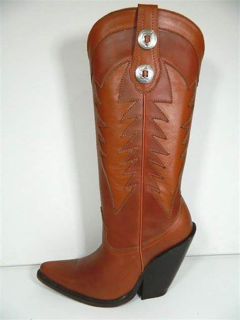 Handmade Custom Boots - handmade cowboy boots saddle inlayed decorative design